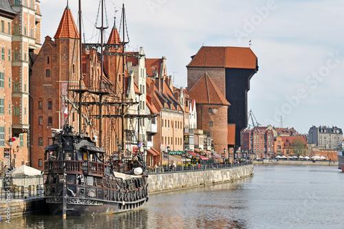 obraz PCV Stare Miasto w Gdańsku