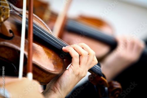 Obraz na płótnie Playing violin