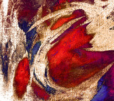 abstract painting by oil on canvas,  illustration, backg
