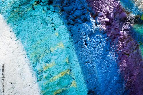 Photo sur Toile Les Textures Graffiti couleurs