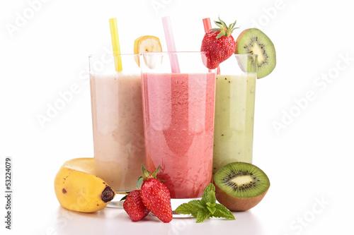 Stampa su Tela assortment of smoothies