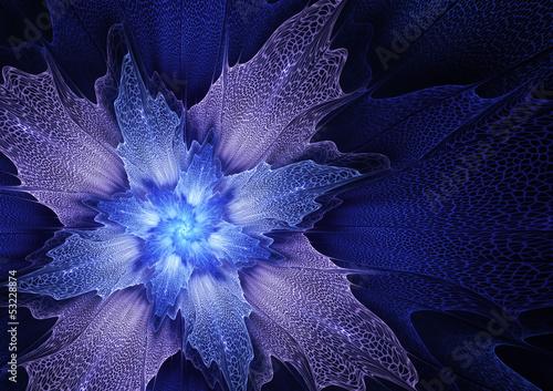 niebieski-futurystyczny-kwiat