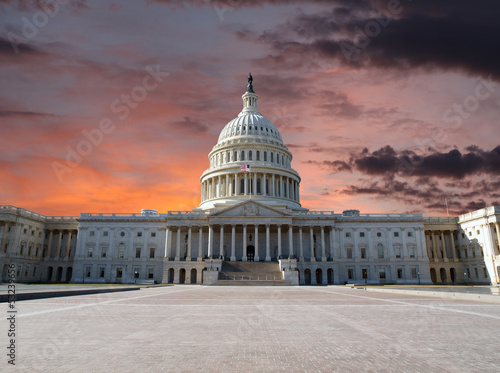 Valokuva  Capitol Hill Sunset
