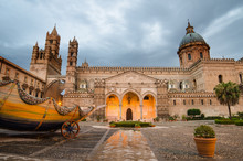 The Cathedral Of Palermo, Sici...