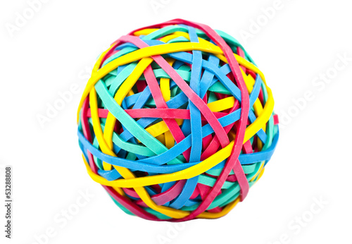Fotografía  Rubber (Elastic) Band Ball