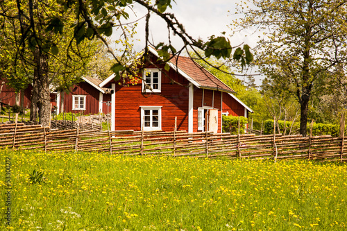Fotografía  Houses and environment in Sweden