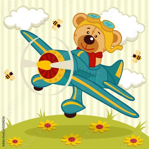 pilot-pluszowego-misia