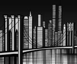 USA - Brooklyn bridge in New York