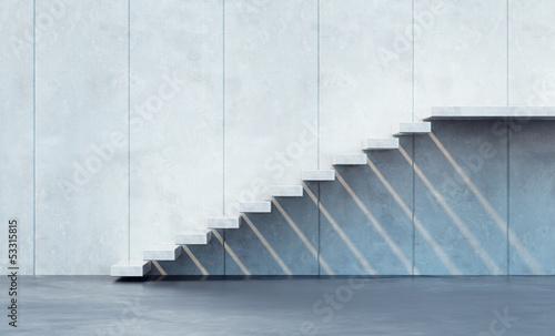 minimalism style stairs Canvas-taulu