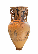 Amphora Shows The Blinding Of ...