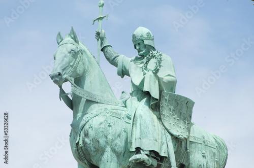 Equestrian Statue of King Saint Louis, Sacré-Cœur de Montmartre