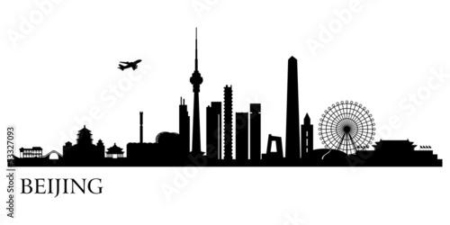 Foto  Beijing city skyline