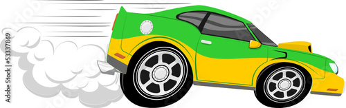 Cartoon voitures race car cartoon
