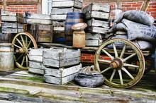 Nostalgia - Farm Wagon Loaded ...