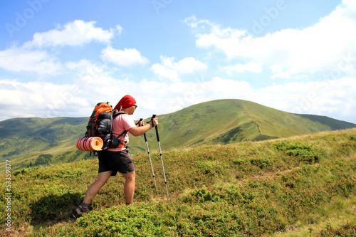 Fotografija Summer hiking the Carpathians.