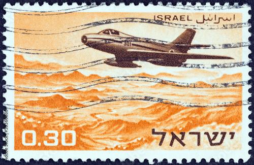 Fotografia  Dassault MD.454 Mystere IVA military aircraft (Israel 1967)