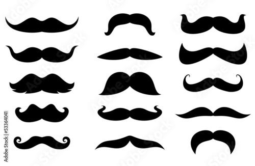 Valokuva Man moustaches
