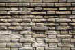 weathered grey bricks wall