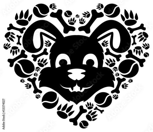 symbol-milosci-psa