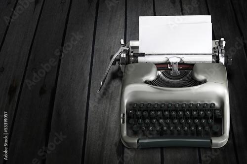 Antique Typewriter Wallpaper Mural