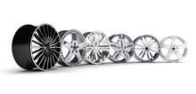 Six Car Rims
