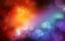 Bokeh Background With Space Fo...