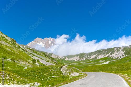 Obraz na płótnie Plateau of Campo Imperatore - Gran Sasso, Abruzzo, Italy