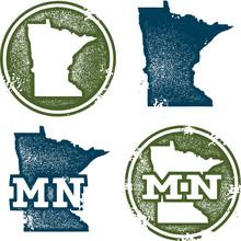 Minnesota State Stamps