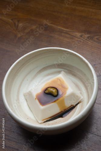 Foto op Plexiglas ゴマ豆腐