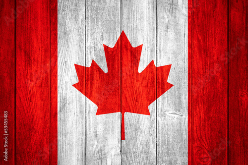 Printed kitchen splashbacks Canada Canada flag
