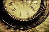 Vintage Clock Background