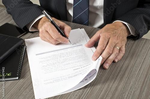 Valokuvatapetti Signature contrat