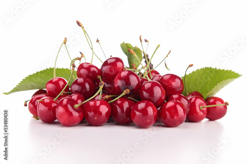 Fotografie, Obraz  isolated cherry