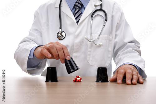 Gambling with healthcare плакат