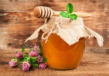Sweet Honey From Flowering Clover
