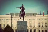 Pałac Prezydencki w Warszawie. Styl retro vintage - 53485841