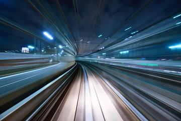 Fototapeta 3D tunel świetlny