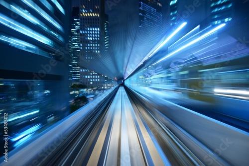 Motion Blur z Tokyo Monorail