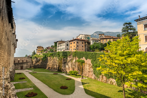 Wall Murals Northern Europe Inner Garden of Buonconsiglio Castle in Trento
