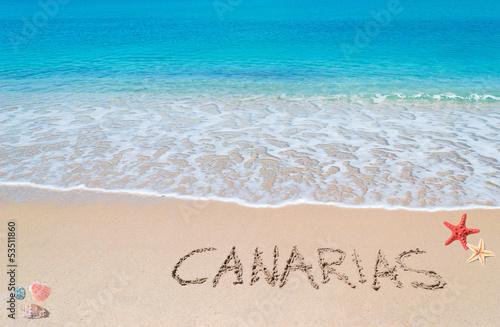Fotografia  canarias writing