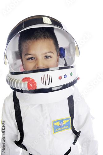Fotografie, Obraz  Astronaut Commander Closeup