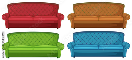Amazing Colorful Couches Buy This Stock Vector And Explore Similar Dailytribune Chair Design For Home Dailytribuneorg