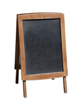 Wooden Menu Board With Clipping Path