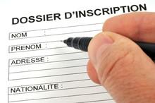 Le Dossier D'inscription