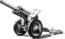 Old Artillery Gun