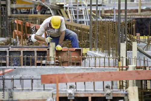 Valokuva  Bauarbeiter