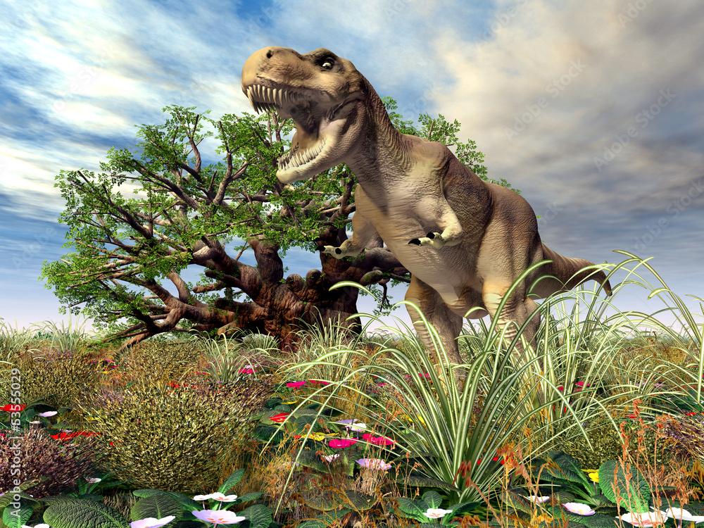 Tyrannosaurus Rex <span>plik: #53555029 | autor: Michael Rosskothen</span>