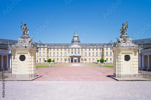 Fotografie, Obraz  Schloss Karlsruhe
