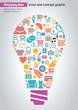 Online Shopping Idea Concept Design