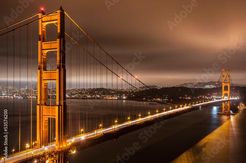 Keuken foto achterwand San Francisco Golden Gate Bridge